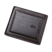 От известного бренда, сумка для денег Роскошные Дизайнерские маленькие короткие Для мужчин кожаный бумажник мужской клатч портмоне бумажн...(China)