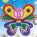 12 Colors 3D DIY Foam Mosaic Stickers Art EVA Children Puzzle Cartoon Crystal 3D Sticker Creative