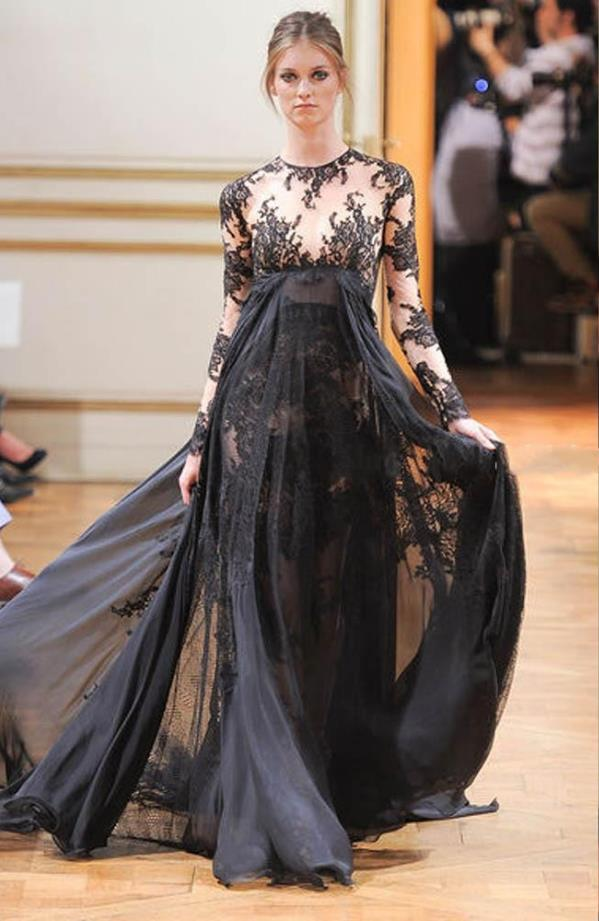 Bow Sleeve Pregnancy Evening Gowns – fashion dresses