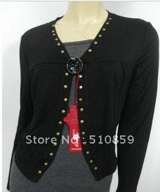 Lady holiday two suit sportswear middle-aged mother sweater jacket 3 color new women's clothing