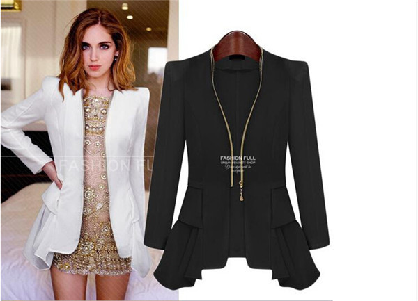 Images of Womens Blazer Jackets - Reikian