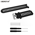 Silicone Strap Watchbands for Garmin Forerunner 910XT GPS Triathlon Running Swim Cycle Training Sports Watch