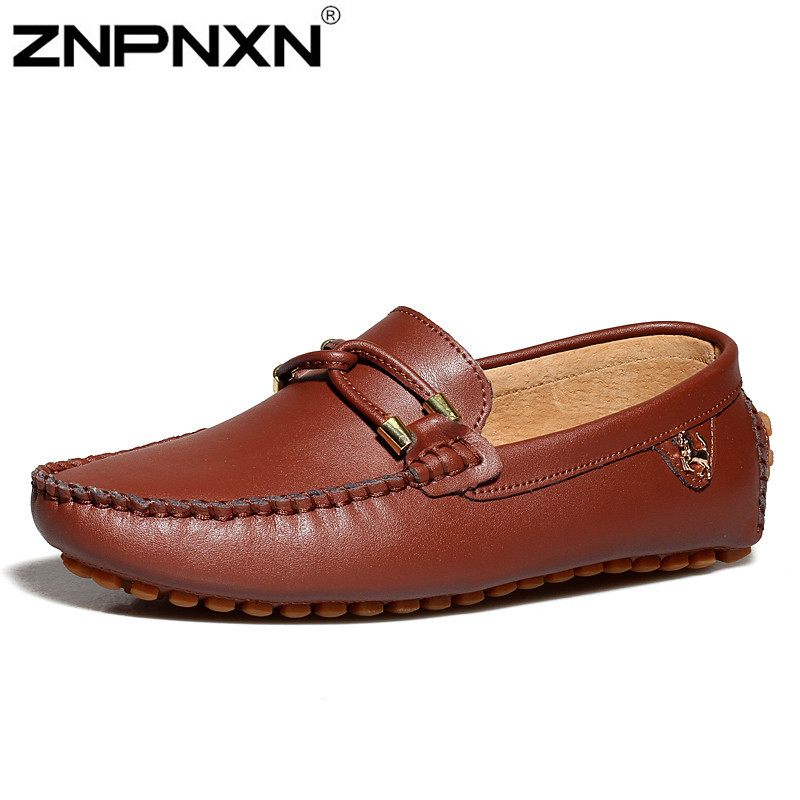 Genuine leather Casual flat men shoes Oxford shoes for men loafers moccasin Driving shoes men bota masculina zapatillas hombre
