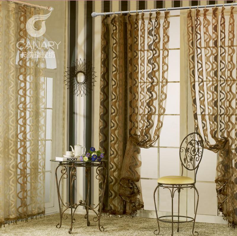 Colored glaze quality fashion living room curtain modern brief coffee screens balcony shalian blinds window for curtain(China (Mainland))