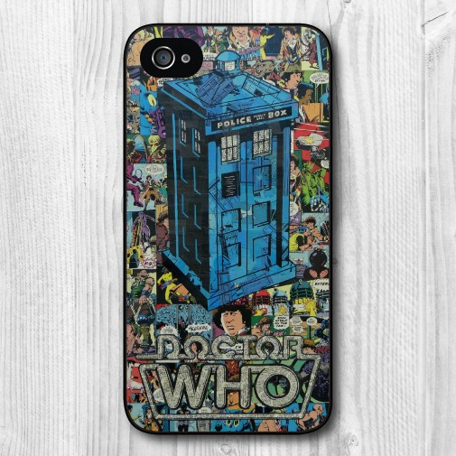 Retro Doctor Who Comic Book Phone Case for Huawei 3C 4X Honor 6 7 Ascend P6 P7 P8 Lite P9 Lite Mate 7 8(China (Mainland))