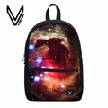 Veevanv 2017 Galaxy Stars Universe Space Backpacks for Girls Boys New Multicolor Women Canvas School Backbag