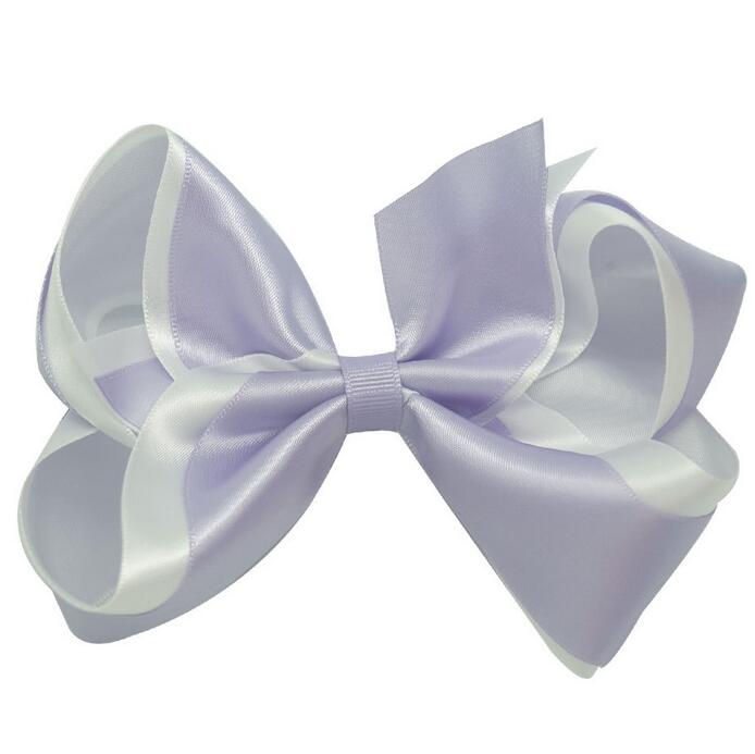 Free Shipping Wholesale 100pcs Boutique Twisted 5 Inch Large Classic Hairbow Hair Clip(China (Mainland))