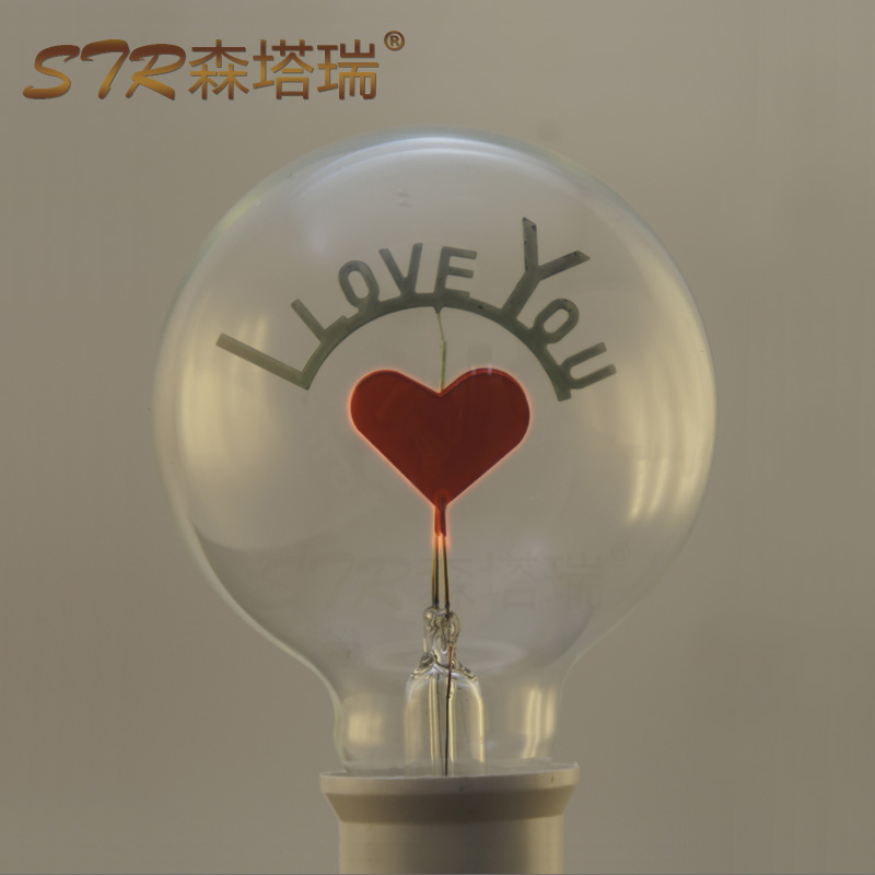 10pcs G80 Edison decoration bulb, personalized flame light source,special lamp,E27 AC220V, Romantic light(China (Mainland))