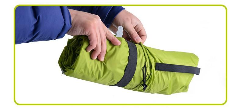 Naturehike Ultralight Outdoor Air Mattress Moistureproof Inflatable Air Mat With TPU Camping Bed Tent Camping Mat Sleeping Pad 5