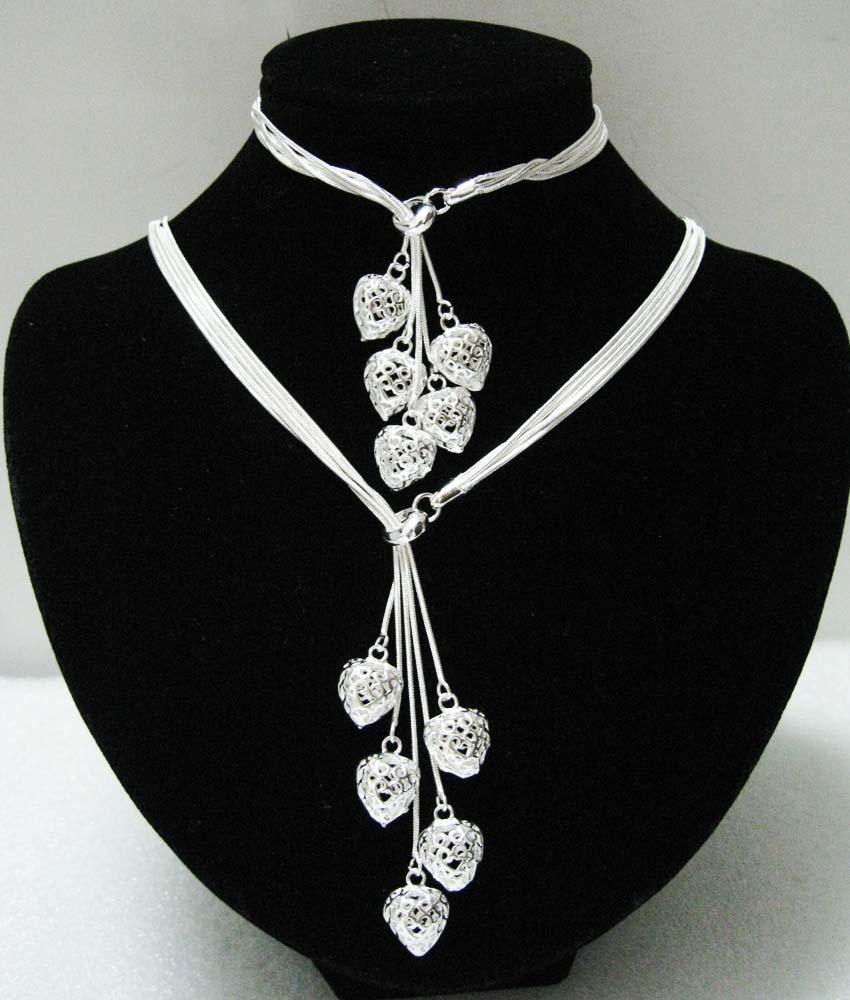 EVYSTZ (88) price fashion silver heart jewelry set woman 925 sets jewellery setting - Evan Store store