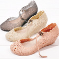 The new Women jelly shoes flower hollow wedge sandals for Women