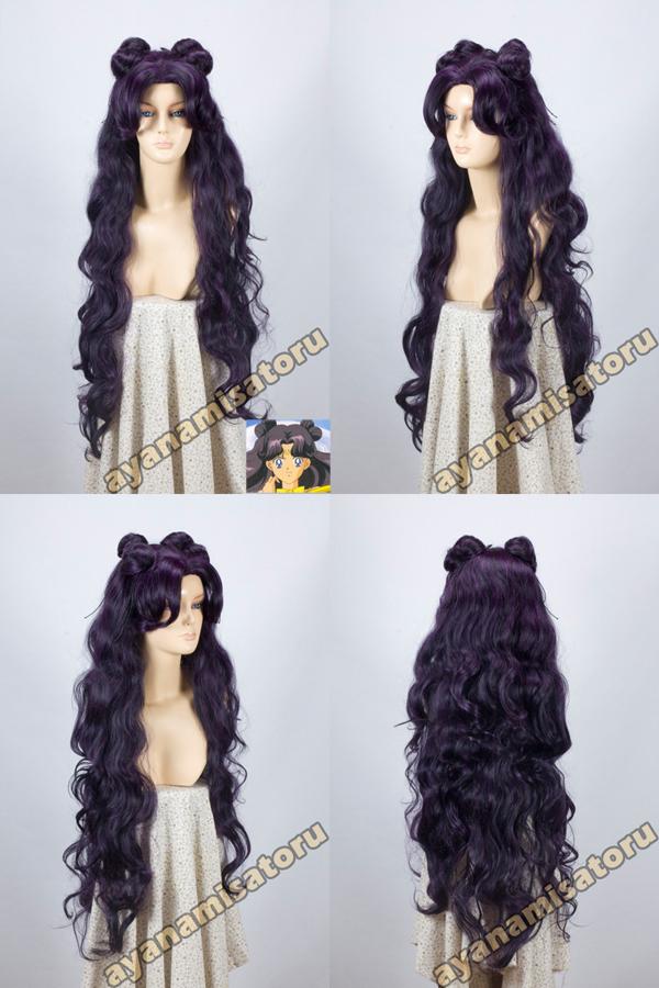 Top Wig 2015 Queen Hair Sailor Moon Luna Cos Wig Luna Cosplay Hot Selling Heat Resistent Wigs<br><br>Aliexpress