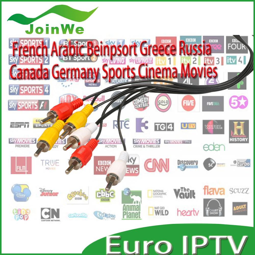 12 months valid  EU  ipk account   match  mag250 iptv set top box mag 254 linux system iptv set top box server(China (Mainland))