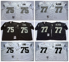Stitiched,Oakland s Howie Long lyle alzado Throwback for men camouflage(China (Mainland))