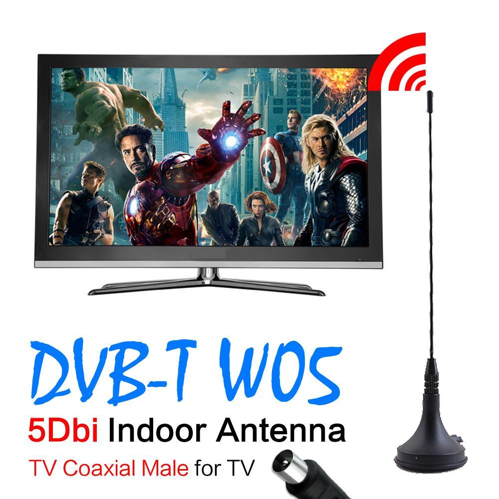 2016 New 5dBi Digital DVB-T TV Antenna Freeview HDTV Antenna Aerial Booster For DVB-T TV HDTV EL0341(China (Mainland))