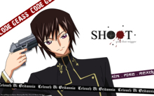 Free shipping CODE GEASS ZERO LELOUCH Japan Anime Poster printed silk wall decoration 12×18 24x36in(1450063850497)