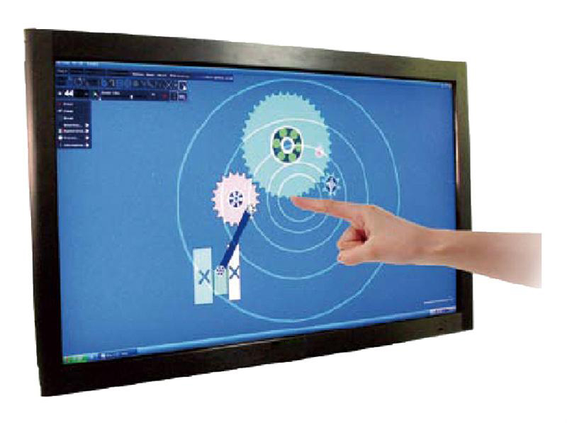 65'' touch screen overlay panel true 10 points without glass for LCD monitor(China (Mainland))