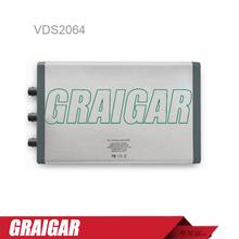 Owon VDS2064 osciloscopio para pc, 4 1 ( multi ) el canal y Multi-trigger opción 60 MHz de ancho de banda 500 MS/s frecuencia de muestreo de 5 M longitud de registro