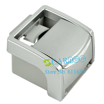 New design Multi-function Car Ashtray Holder Cup Holder Phone Holder color Silver 12703