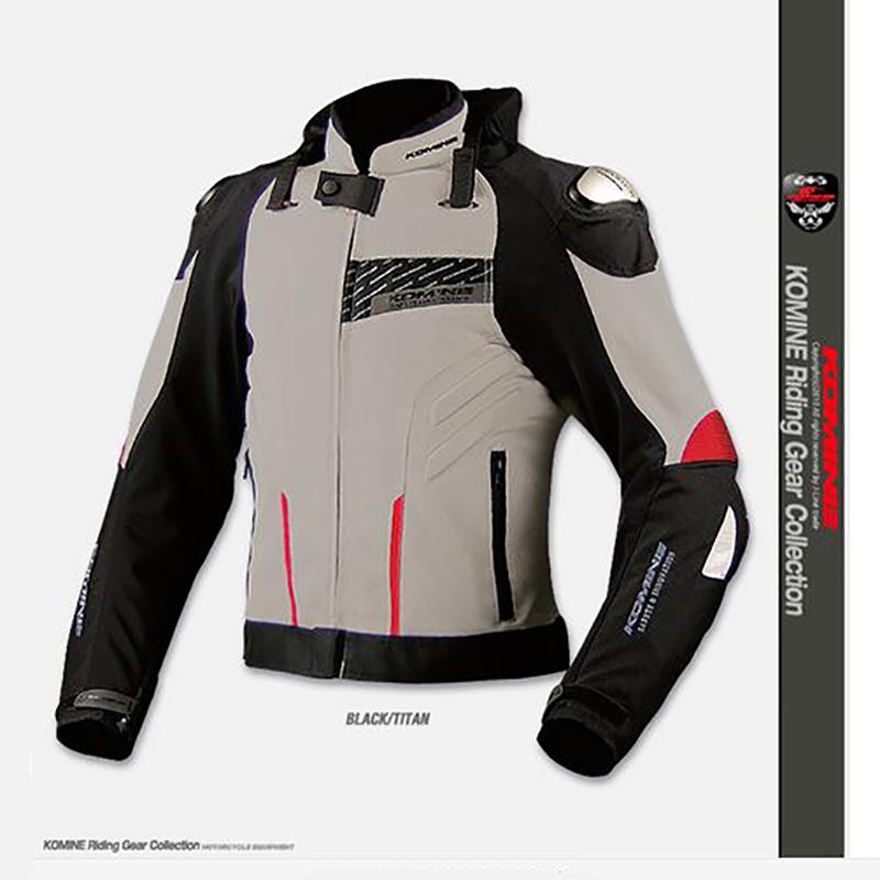 JAPAN KOMINE JK015 Titanium high-performance drop Resistance Clothing Cycling Racing ATV MX Motorcycle Jackets(China (Mainland))