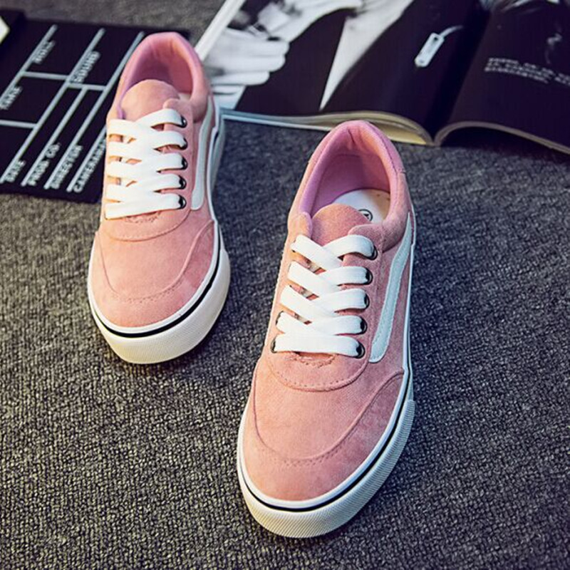 Women Canvas Shoes Flats Casual Female Low Pink Students Women's Classic Design Autumn - Better&Better store