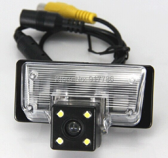 car rear view camera reverse license plate light for SONY CCD Nissan TEANA TIIDA Sylphy Altima Venucia D50 parking assist(China (Mainland))