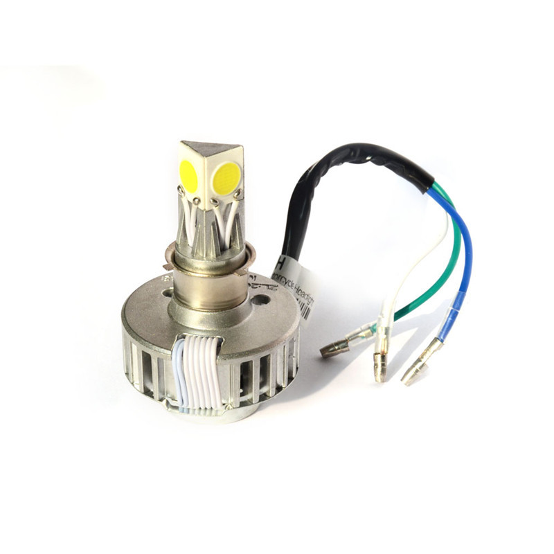 18w 6v-36V input Motorcycle Dirt bike motorcross led headlight Applicable Model H6 H4 PH7 PH8 distance light can be switched(China (Mainland))