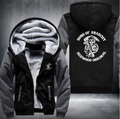 2017 new hot hoodies Mens Sweatshirts sons of anarchy USA Size fast ship full Fleece best