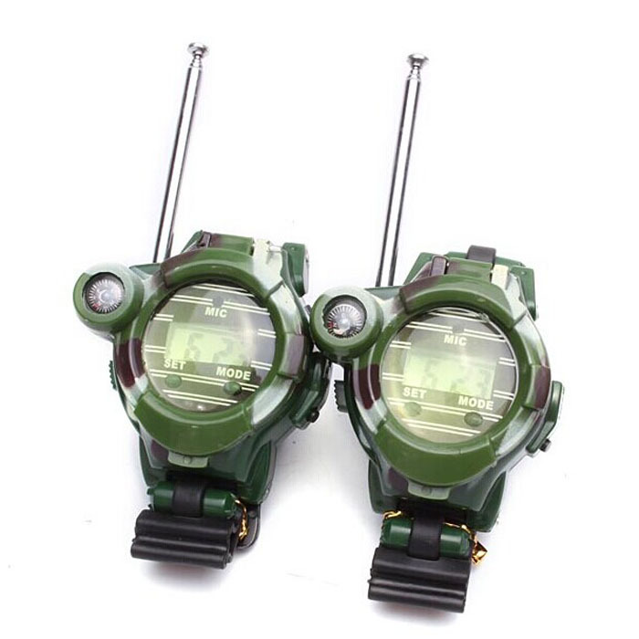 Kimisohand 2PCS Children Toy Walkie Talkie Child Watches Interphone Outdoor(China (Mainland))