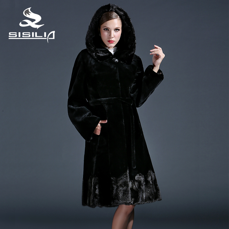 Online Get Cheap Black Fur Coats for Women -Aliexpress.com ...