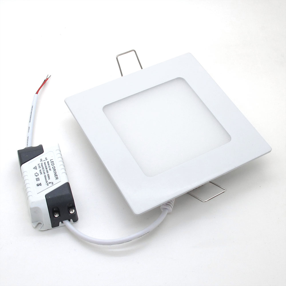 Led Downlight Square 3W 6W 9W 12W 15W 18W Cree Recessed Ceiling Panel Downlights Bulb Lamp Kitchen Bedroon 220v 110v - Shenzhen Ledtop Technology Co., Ltd. store