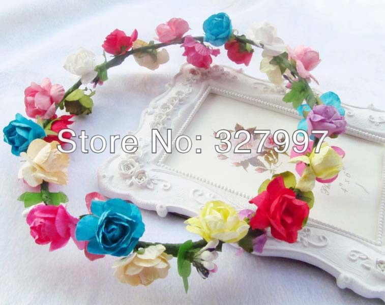How To Make Flower Paper CrownFlowers Ideas