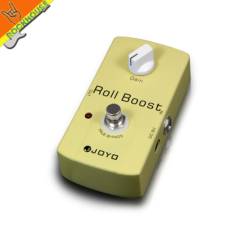 JOYO Clean boost guitar effect pedal clean booster stompbox low gain boost output energy Lighting the tone true bypass(China (Mainland))