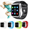 Men Women Smartwatch Bluetooth Smart Watch Sports Wearable Devices SIM Card for IPhone Samsung Sony Huawei