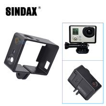 Hot Sale Gopro Hero 3 Accessories Case Standard Protective Frame Mount Housing for Go Pro Hero3 HD Camera Kit Black Edition