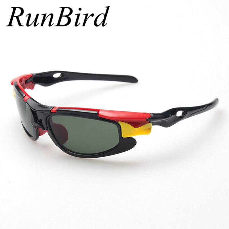 RunBird 2016 New Boy TAC Polarized Goggles Sport Children Sunglasses Kids Protection Sun Glasses Girls Cute Cool YJ026 - Fashion Co., LTD store