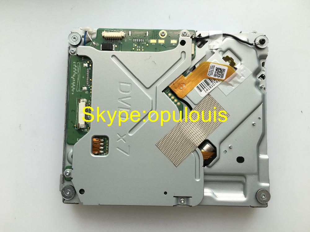 Free shipping PLDS single DVD mechanism DVD-V7 DVD X7 drive loader correct PC Board for Peugeot Citroen car MP3 DVD player(China (Mainland))