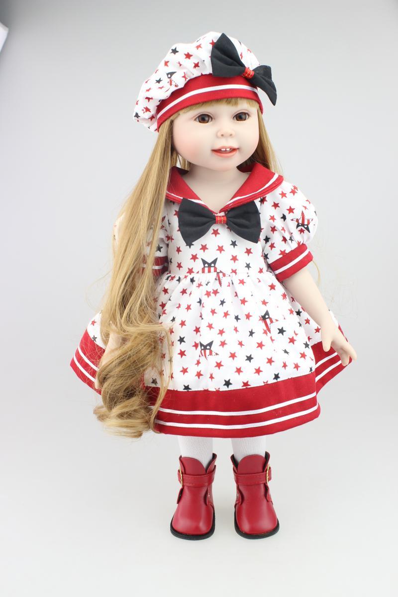 new arrival american girl dolls for sale 18 39 39 size full vinyl body blond hair red dress best. Black Bedroom Furniture Sets. Home Design Ideas