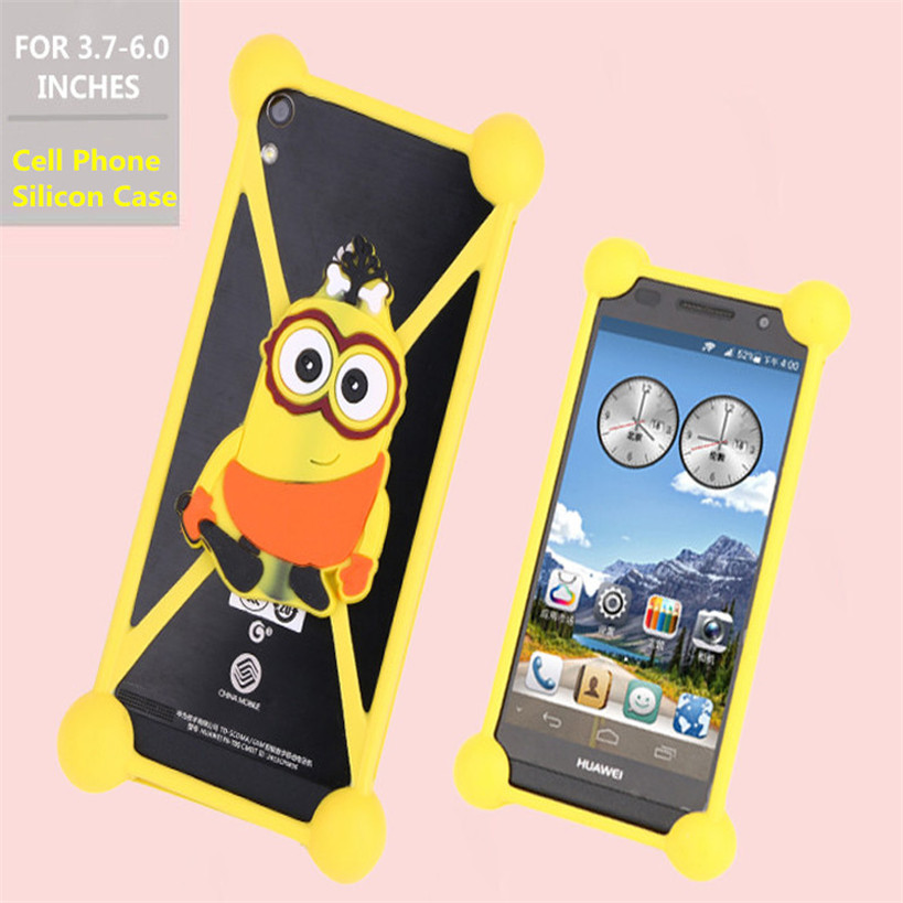 Cute 3D cartoon animal silicon Case Cover Elephone p6000 Pro p7000 p8000 p9000 G9 Vowney Lite Trunk M1 Mobile Phone bag  -  own confidant-Admire store