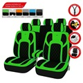 Extreme PU Leather Universal Seat Covers Set Package Universal fit for Vehicles Auto Interior Covers Car