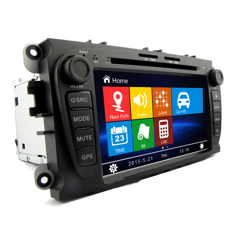 Free Shipping 7 inch Car DVD Player GPS Navigation System for Ford Focus Mondeo C Max