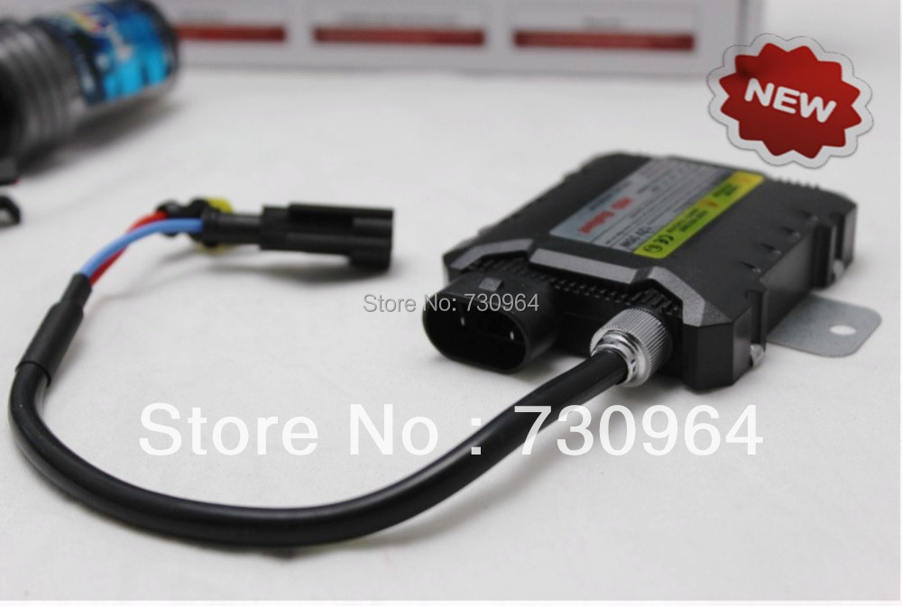 promotion! wholesale super slim absolutely stable HID xenon ballast DC 12V 35W auto headlight 2 pcs/lot freeship(China (Mainland))
