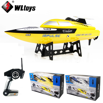 1 Set WLtoys WL912 4CH High Speed Racing RC Boat 24km/h RTF 2.4GHz Remote Control Racing Boat rc boat toys