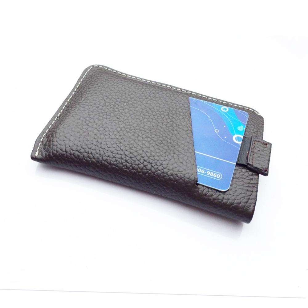 Australia brand ID card holder men Genuine Leather slim Card Holder Bank Credit Business Bellroy wallet case - ENYA NOVELTY BILLETERA store