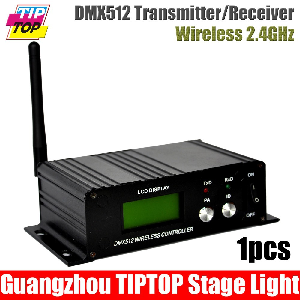 1Pcs/Lot LCD DMX512 Wireless Controller 2.4G Dmx Transmitter/Receiver Wireless Control Moving Head Lighting,3PIN Dmx cheap price<br><br>Aliexpress