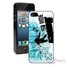 go ride grunge blue snowboard back skins mobile cellphone cases for iphone 4/4s 5/5s 5c SE 6/6s plus ipod touch 4/5/6