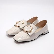 L YC Mujeres Zapatos Planos VERS¨¢Til Casual Zapatos De La Mujer EN La Primavera Estudiante Zapatos Blanco Blanco Negro, White, 34
