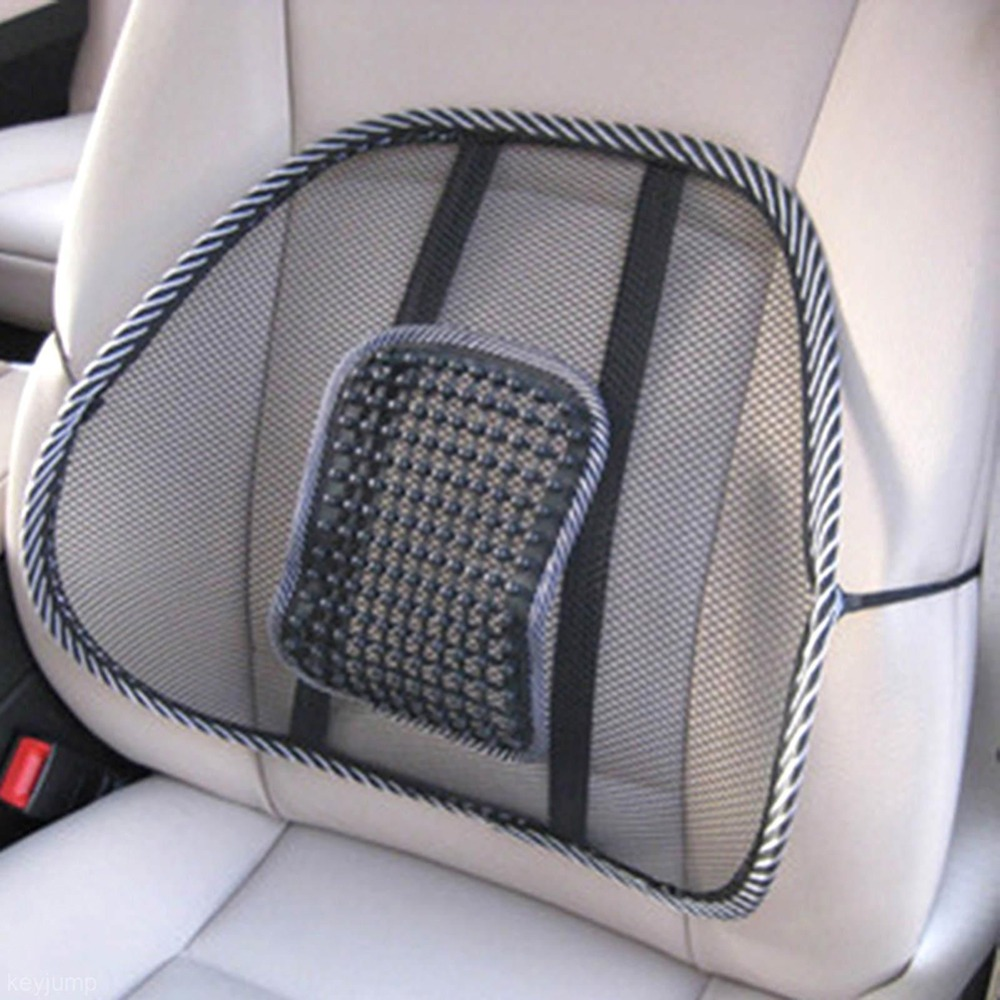 Car Back Seat Mesh Lumbar Back Brace Support Cool Summer Car Seat Office Home