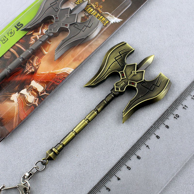 2015 New Coins Katana Vintage Home Decor Heroes Union Lol Surrounding War Machine Model Of Weapon Weapons Buckle Sean keychains(China (Mainland))