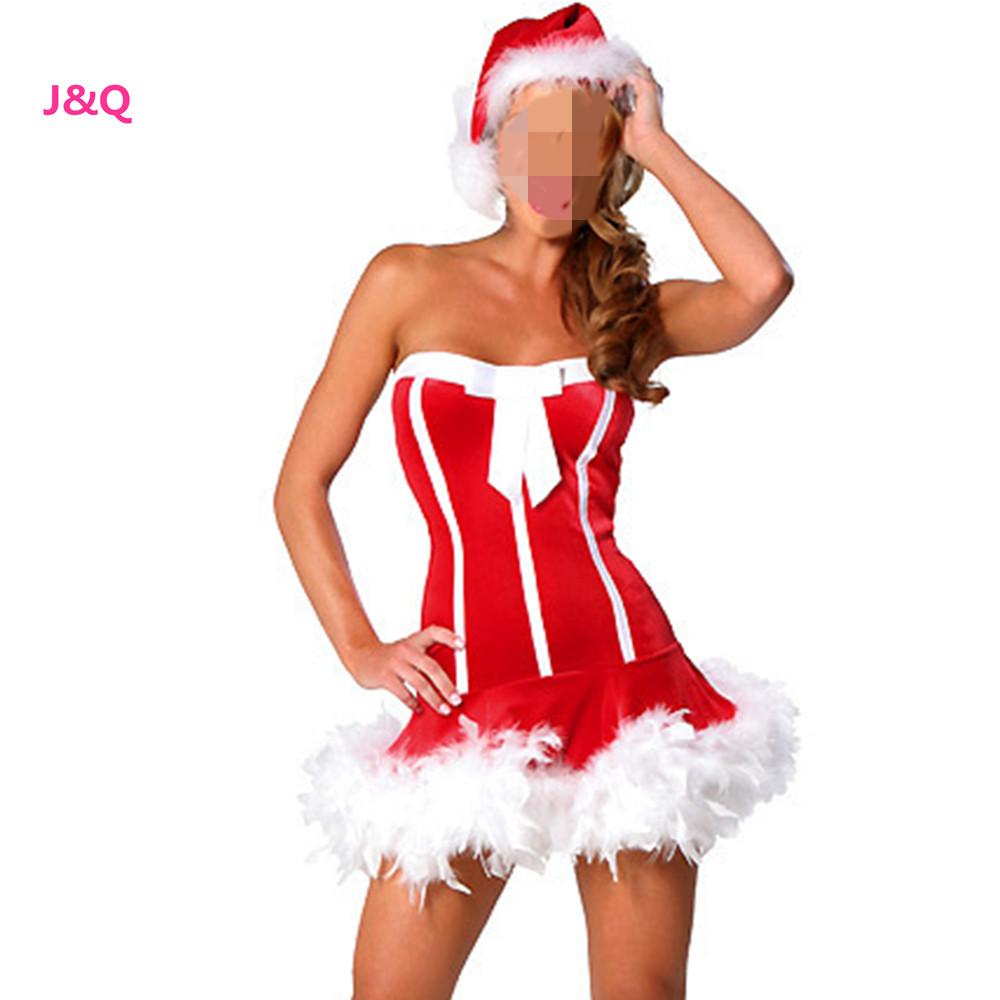 Секси костюмчик снегурочки 17 фотография
